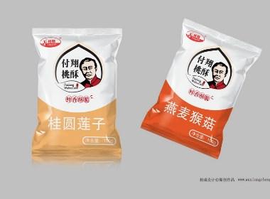 快销食品包装设计(付翔桃酥包装设计案例)