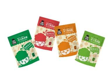 菜蓬头果蔬脆标识设计与包装设计