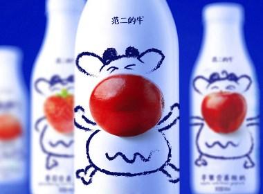 高鹏设计-牛奶包装设计