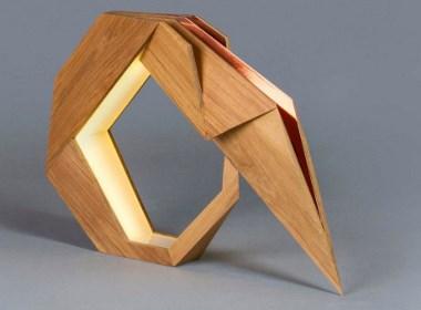 几何家具-可以像折纸一样折叠