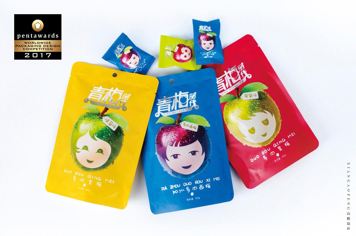 高鹏设计-食品零食包装设计