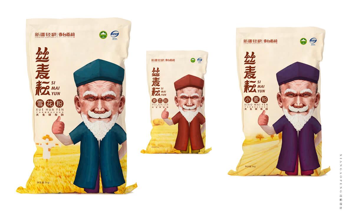 高鹏设计-面粉农产品包装设计