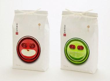 高鹏设计-水果茶包装设计豫西何记