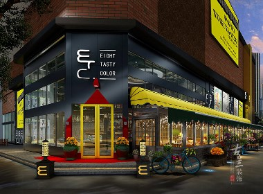 ETC咖啡厅设计案例赏析——成都专业特色咖啡厅设计公司|成都专业咖啡馆设计