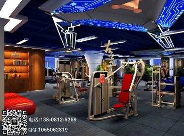 鹭岛国际奥宇健身房设计-成都专业健身房设计|成都健身会所设计|成都健身房装修公司|龙泉健身房设计公司