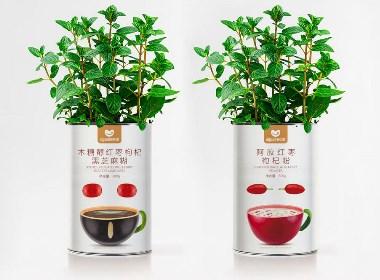 高鹏设计-谷物粉食品包装设计