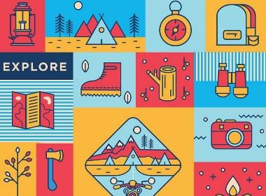 户外旅游品品牌设计