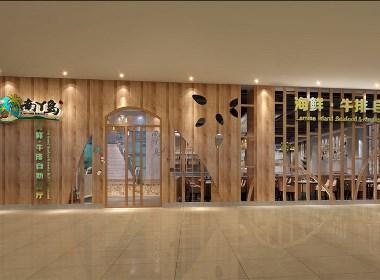 南丫岛海鲜自助餐厅设计-成都海鲜餐厅设计|成都海鲜餐厅装修|成都专业海鲜餐厅设计公司