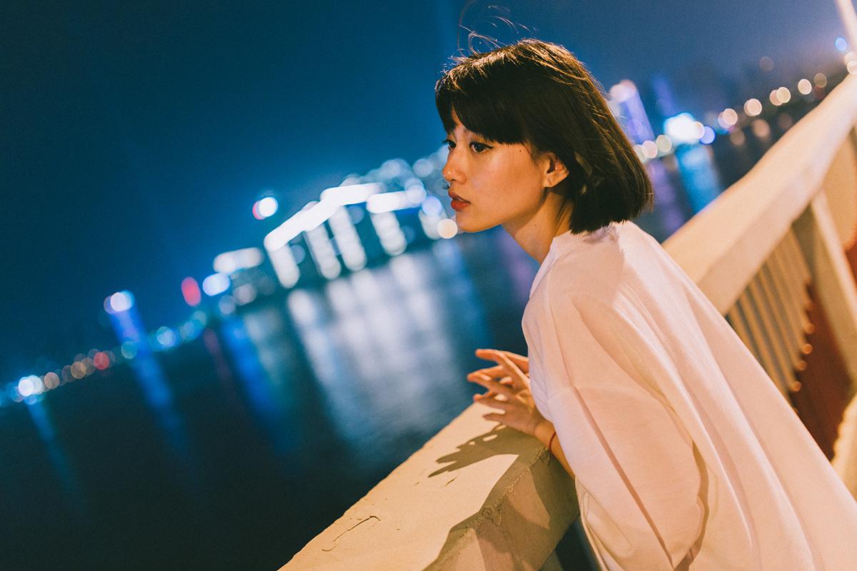 温柔的晚风—人像摄影