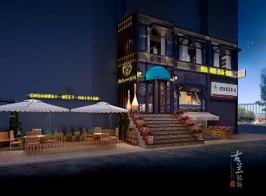 川味源海鲜餐厅装修-成都海鲜餐厅装修|成都特色海鲜餐厅装修|成都专业海鲜餐厅装修公司