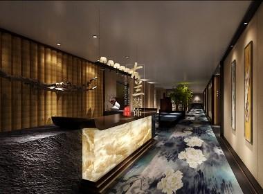 普众禅韵精品酒店设计案例分享——成都专业特色精品酒店设计公司|古兰装饰