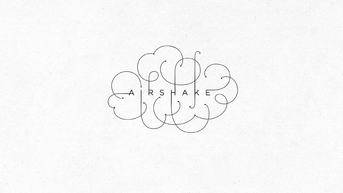 Airshake衣服清新喷雾剂包装设计