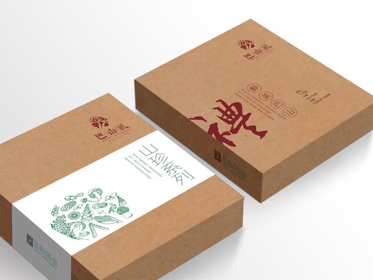 万城文化:巴山礼农产品包装设计