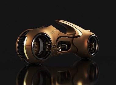 超级帅气的概念摩托车?