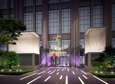 成都酒店设计,成都酒店装修,成都酒店装修设计《HW酒店》
