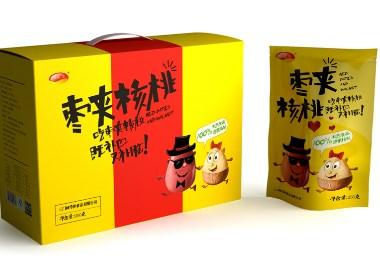 干果食品包装设计 坚果食品包装设计 休闲零食包装设计