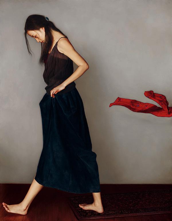 艺术家李贵君的油画欣赏
