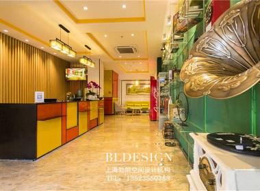 郑州本地酒店设计公司推荐——郑州青枫白露时尚精品酒店设计实景图