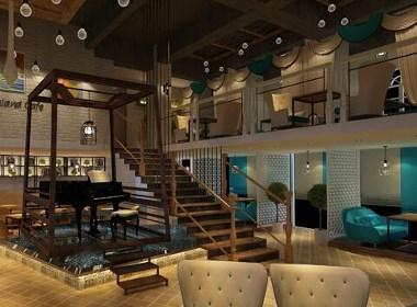 《巴厘岛咖啡厅》成都咖啡厅装修风格,成都咖啡厅设计,成都咖啡厅装修设计,成都咖啡厅装修设计公司,古兰装饰