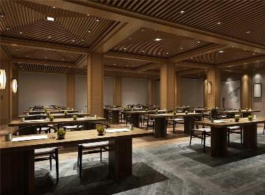 成都中餐厅设计丨成都中餐厅装修-简素中餐厅