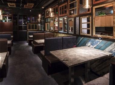 成都中餐厅设计丨成都中餐厅装修-复古中餐厅设计