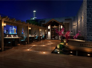 成都中餐厅设计丨成都中餐厅装修-萃悦餐厅设计