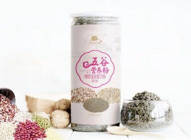五谷营养粉包装设计