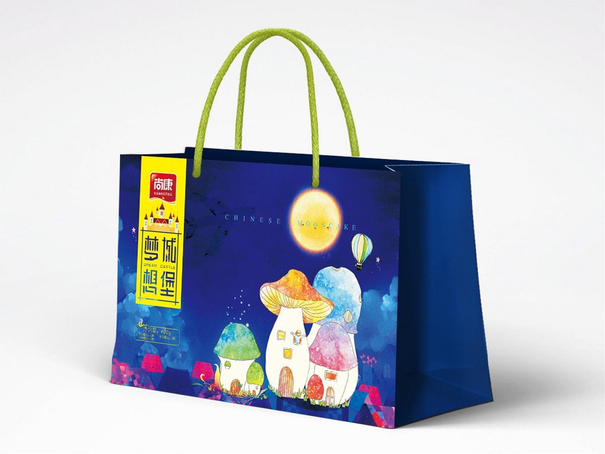 梦想城堡月饼包装设计