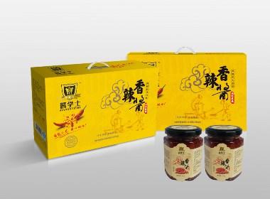 辣椒酱礼盒包装设计
