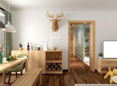 北歐風格混搭日式風格住宅設計-前意識設計葉平作品