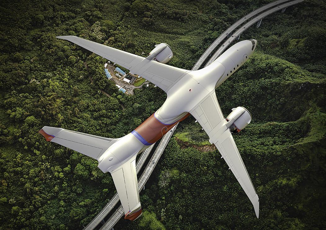 据说以后流行电动飞机