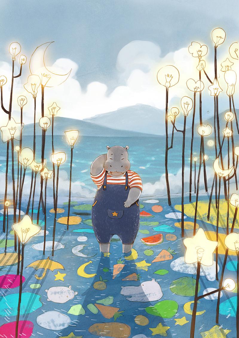 芒果湖—插画欣赏