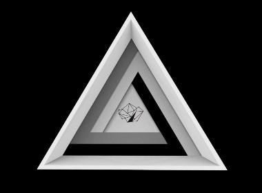 三角创意画框