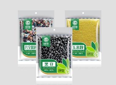 绿帝五谷杂粮包装