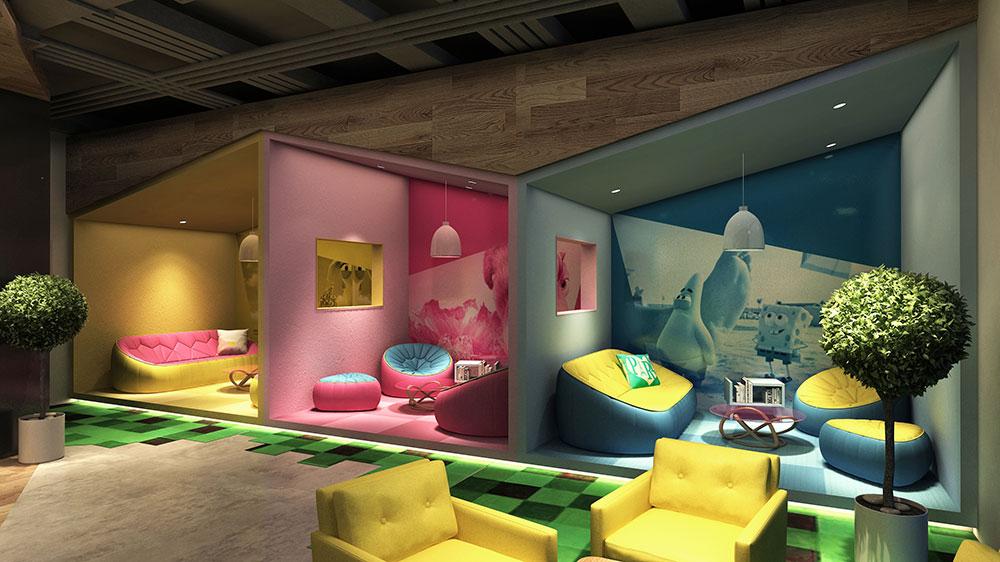 让你置身于电影世界里—UMS无人值守创意主题房 | 杜贝品牌设计
