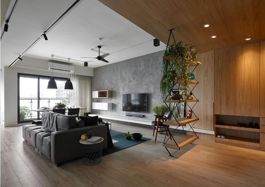 现代简约住宅--而沃设计