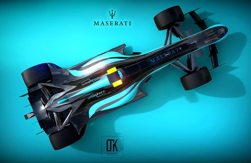 2020年玛莎拉蒂概念赛车