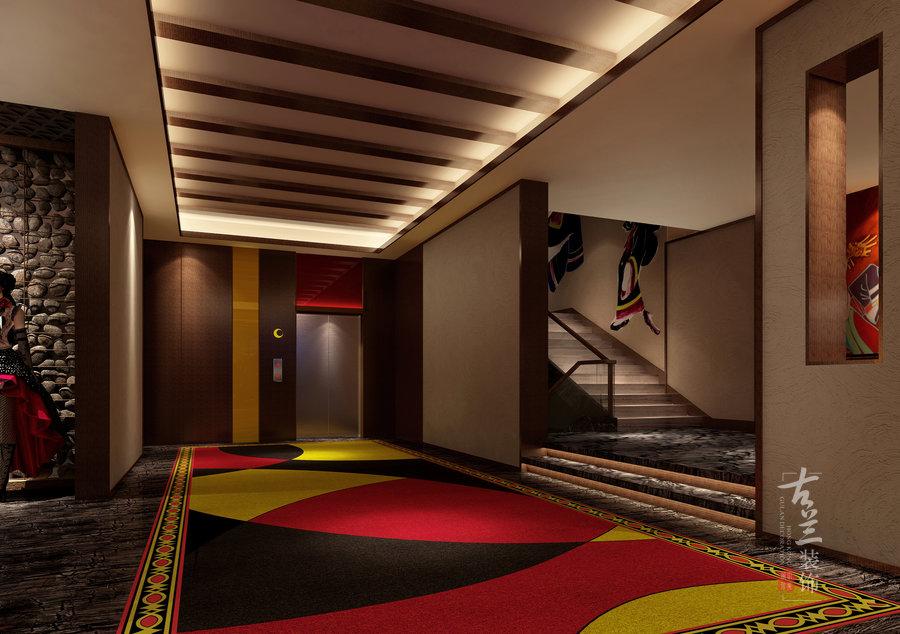月亮女儿主题酒店原创设计——成都专业主题酒店设计公司|古兰装饰