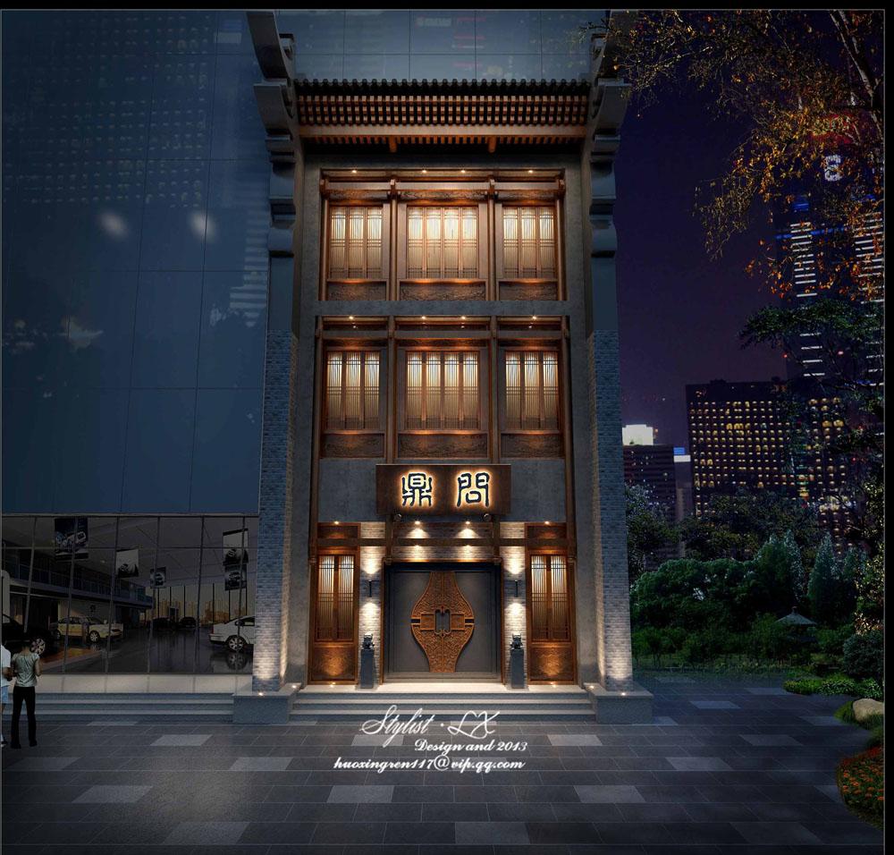 成都中餐厅设计丨成都中餐厅装修-问鼎中式餐厅