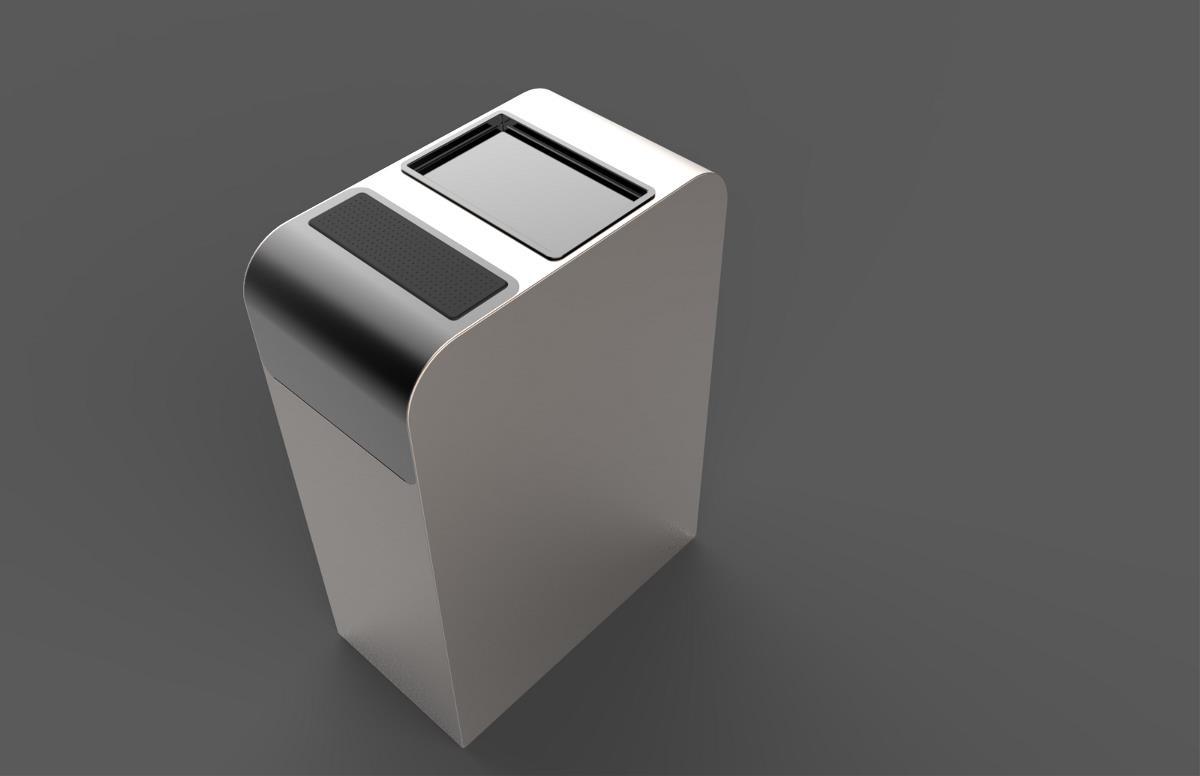 多功能智能垃圾筒