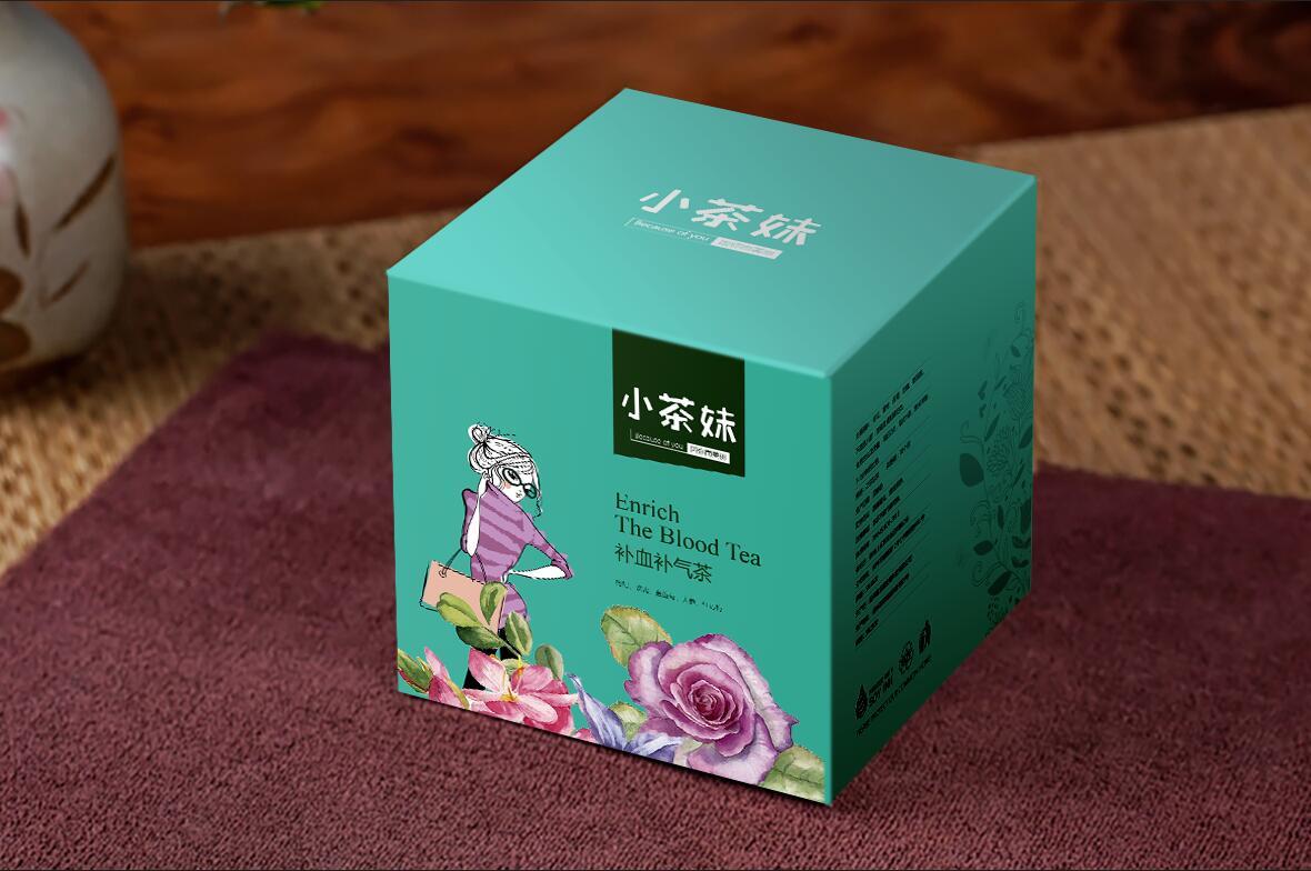 小茶妹 - 成都茶叶包装设计-万城文化品牌设计