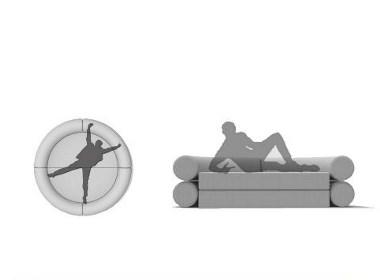 模块化沙发设计