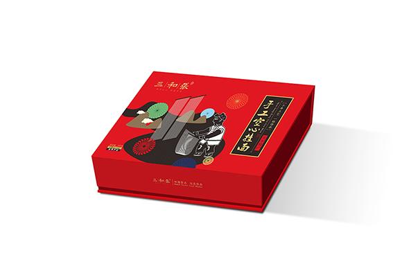 包装设计 三和张手工挂面品牌包装