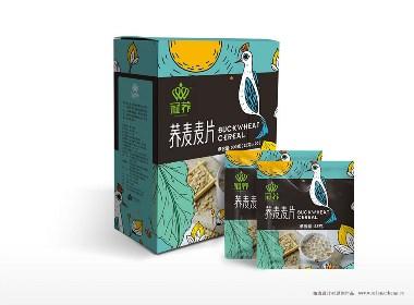 相成设计专业包装设计公司出品——冠荞系列荞麦产品包装设计欣赏
