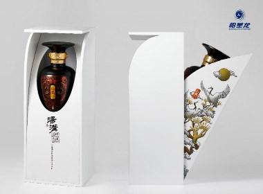 世界之星作品:汤沟仙鹤酒酒包装设计——柏星龙出品