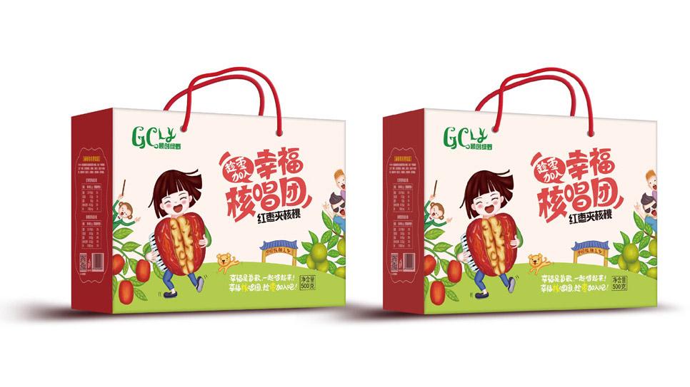贵州火星人包装设计之大方赫章乡里人家红枣夹核桃包装策划设计