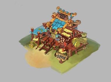 游戏Q版场景设计