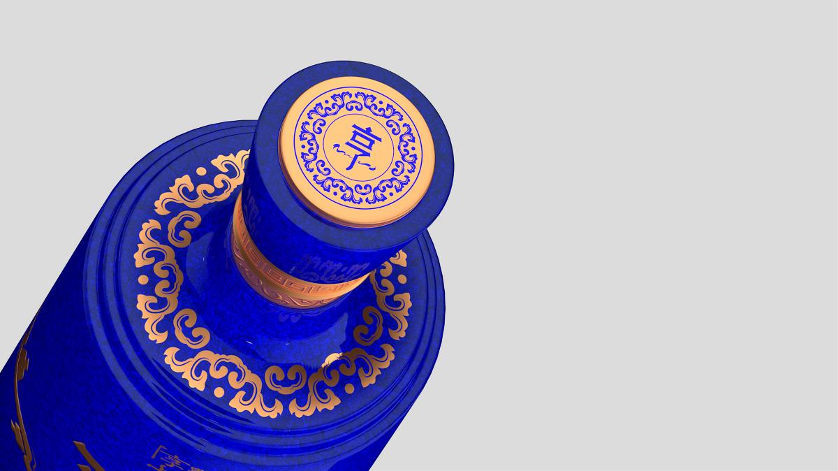 会传情的酒系列包装外观设计之主题《享》