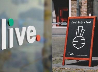 Live 有机食品企业VI设计