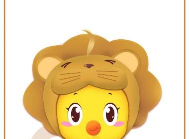 小黄鸡高登狮子座壁纸 1242X2208